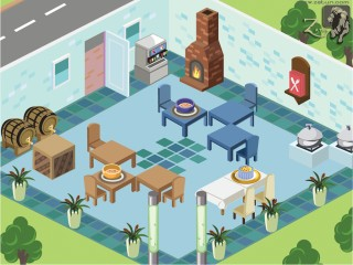 restaurant 01 320x240 Facebook Game Development
