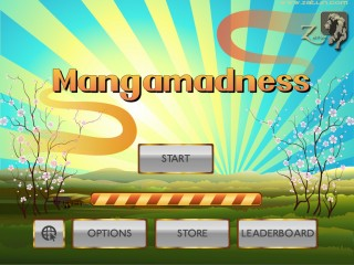 Mangamadness title 320x240 iPad Game Development